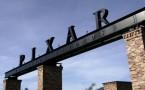 Main gate of the Pixar Animation Studios office in California.
