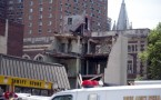 Calamity after four-story building at the 22nd and Market Street in Philadelphia collapsed on June 5, 2013.